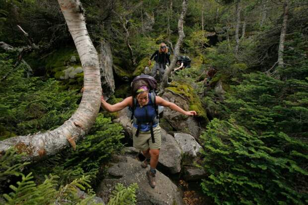 67-летняя бабушка прошла 3500 км и основала новое направление в туризме