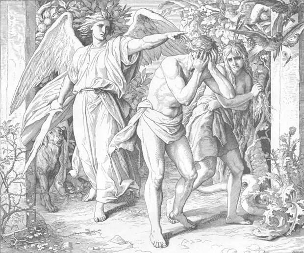 Юлиус Шнорр фон Карольсфельд - Изгнание из рая