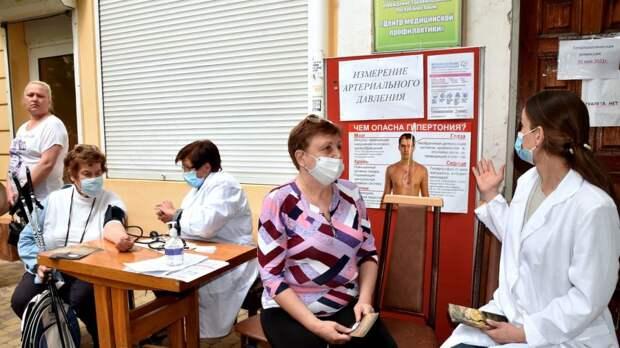 Минздрав РК: В Симферополе состоялась акция, посвященная Всемирному дню борьбы с артериальной гипертонией