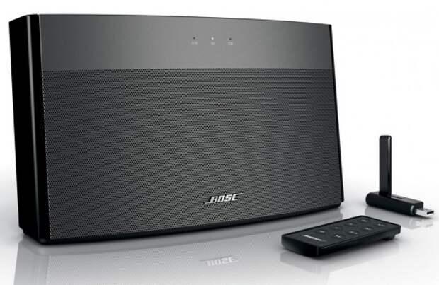 Звуковая система Bose работает без проводов