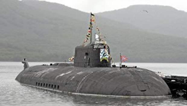 Атомная подводная лодка проекта 949А Антей Тверь. Архивное фото