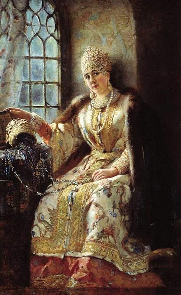К.Е.Маковский Боярыня у окна