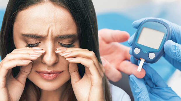 Признаки диабета: на высокий сахар в крови укажут два симптома в глазах