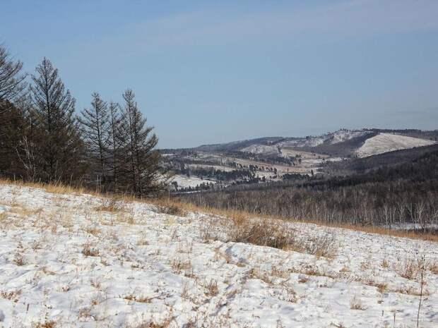 Снег местами в Забайкалье ожидается  20 апреля