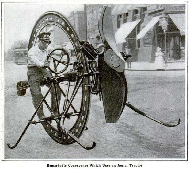 Оседлать колесо! 150 лет истории моноколес