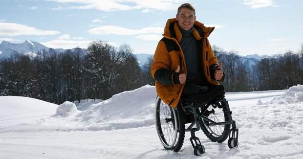 Finn Flare посвятил куртку паралимпийцу Алексею Быченку