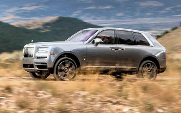 Тест Rolls-Royce Cullinan – в приподнятом настроении