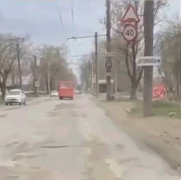 Любимов обратил внимание мэра Рязани на ужасное состояние дороги на улице Промышленной
