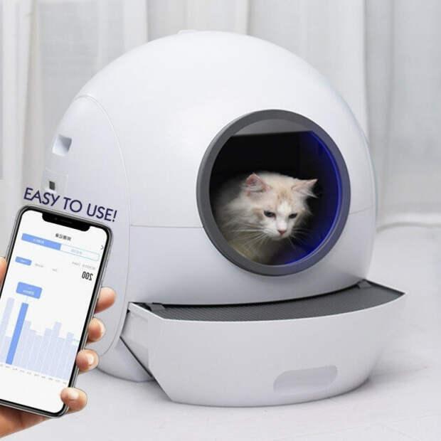Space Kotty - туалетный лоток с приложением