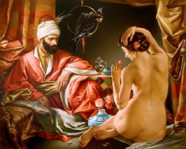Вот как готовили наложниц к ночи любви в султанском гареме