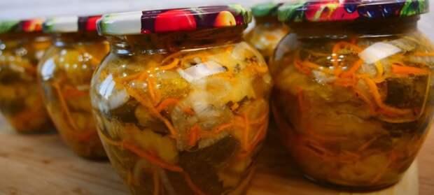 Салат из огурцов на зиму по-корейски из маминой тетрадки. 30 банок будет мало