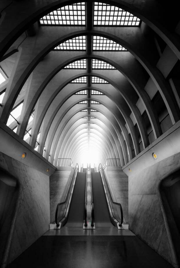 Станция Liège во Льеже, Бельгия