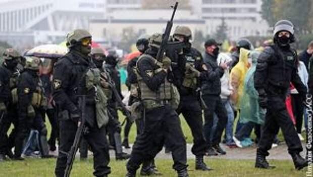 Белорусские силовики получили разрешение на применение оружия против демонстрантов