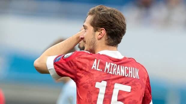 Россиянин Миранчук попал в заявку «Аталанты» на финальный матч Кубка Италии