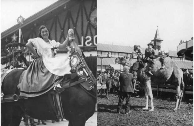 20 фотографий, которые показывают Октоберфест в 1900-1964 годах