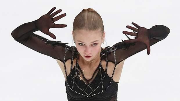 СМИ: Трусова вернулась в группу Тутберидзе. Сегодня фигуристка поучаствовала в разминке в «Хрустальном»