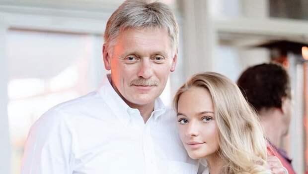 Дочери Навки и Пескова посвятили песню отцу