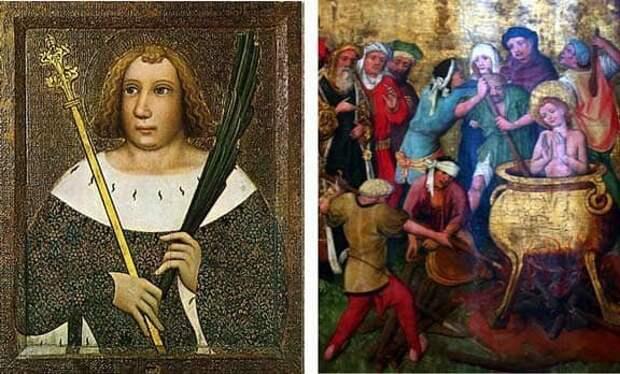 Святой Вит - танцоры, сони интернет, покровители, религия