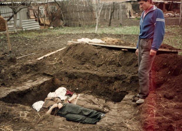 Апрель 1995 года, село Самашки / Международный мемориал