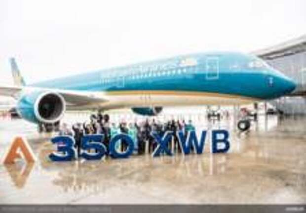 Vietnam airlines  презентовала новый A350-900