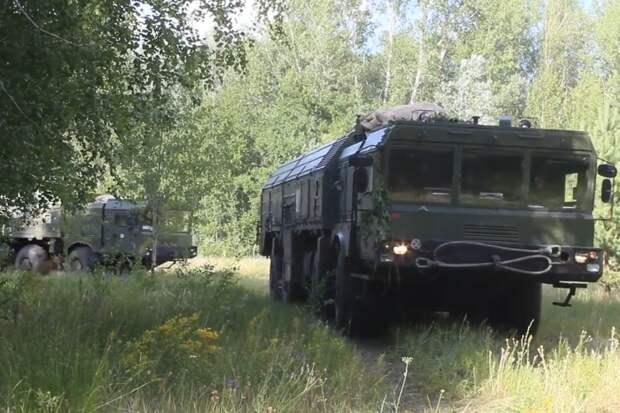 В отдельной ракетной бригаде ЗВО в Ивановской области завершили подготовку ОТРК «Искандер-М» к летнему периоду эксплуатации