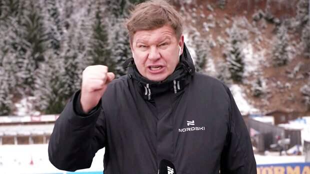 Губерниев ответил на претензии Аликина: «Вы тоже слабак, дяденька!»
