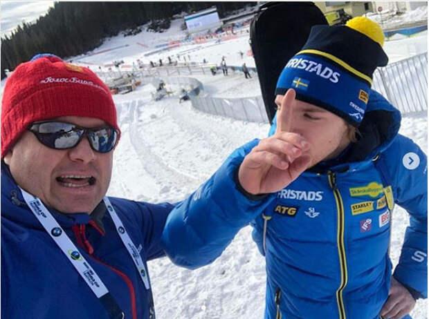 Сорина взяла первую медаль – и сразу шведские журналисты заговорили про допинг. Губерниев ответил прямо: «Увижу шведа - будет сложно заставить его сожрать свою газету, но…»