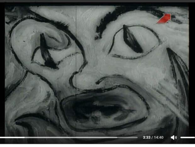 Кадр из документального фильма Хрущёв и авангардисты