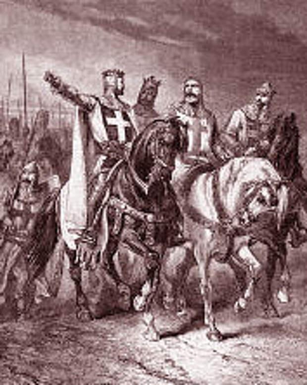 Крестоносцы в пути