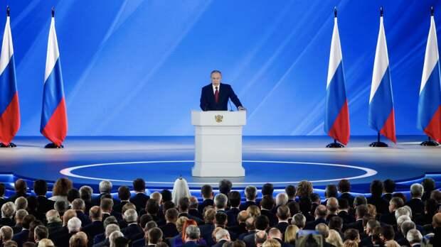 Путин в среду обозначит направления развития страны после пандемии