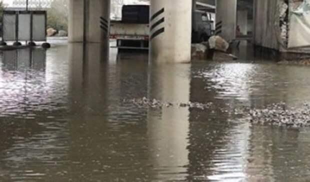 Потоп наСиверса вРостове устранят всубботу