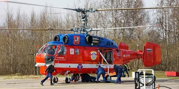 И в снег, и в дождь: новый вертолет пополнил отряд Московского авиацентра. Фото: архив редакции