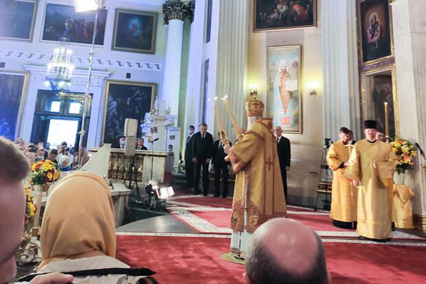 В Санкт-Петербурге прошли торжества в честь 800-летия Александра Невского