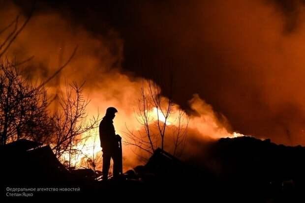 Россия готова оказать Украине помощь с тушением пожаров в Чернобыле