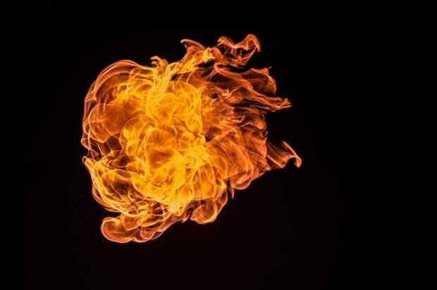 На Дубнинской произошло возгорание