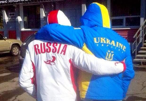 Матч Россия - Украина. Наши победили, но...