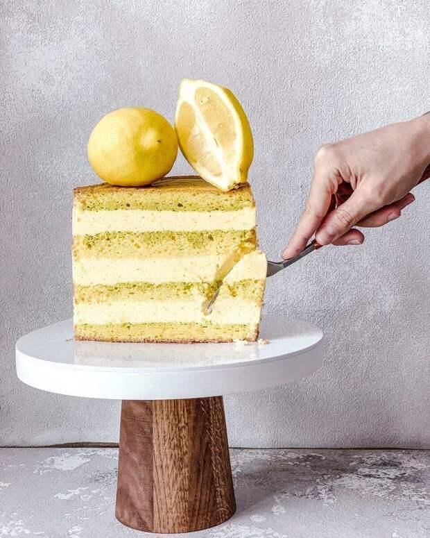 """+  Мятно-лимонное наслаждение — торт """"Гавайи""""⠀"""