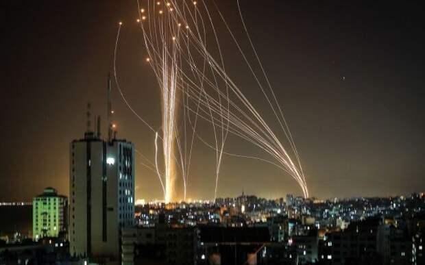 СМИ: Палестинские радикалы вночь на15мая продолжили обстрел Израиля