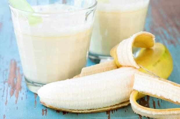 Маска для лица с бананом и молоком