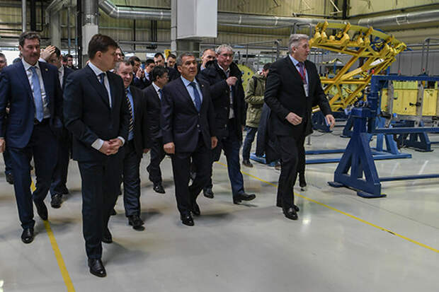 Казанский вертолетный завод оживает