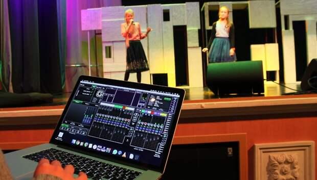 Театр эстрадной песни КПЦ «Дубровицы» получил новое звуковое оборудование