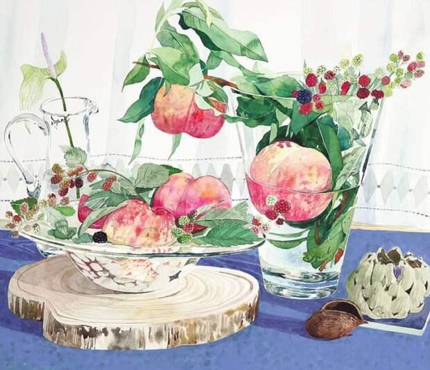 художник Аяко Тсуге (Ayako Tsuge) картины - 01
