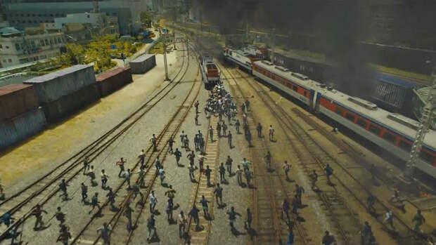 «Поезд в Пусан»: Чуть помедленнее, зомби, чуть помедленнее
