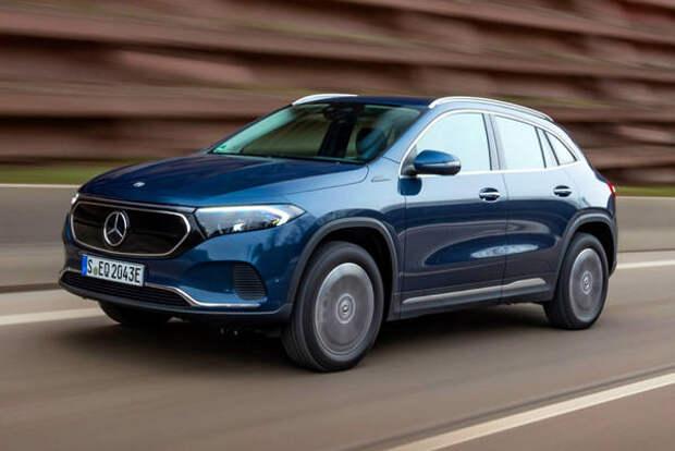 Полноприводный Mercedes-Benz EQA дебютировал в Европе