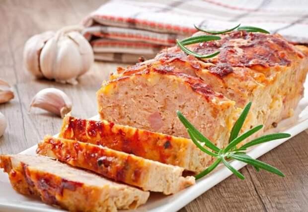 Мясной хлеб по-домашнему. \ Фото: tutknow.ru.