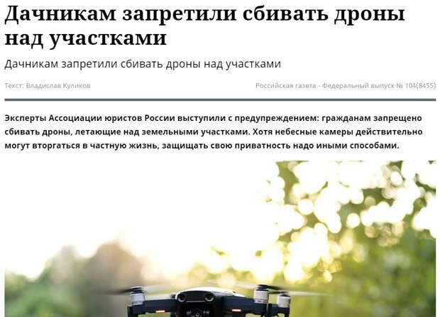 скрин - шот статьи РГ - Российская газета - Федеральный выпуск № 104(8455)