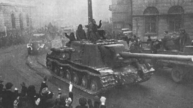 Документы об освобождении Польши силами РККА появились на сайте Минобороны РФ