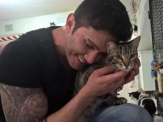 Этот парень ищет кошек во время своих путешествий и спасает тех, кому нужен дом!