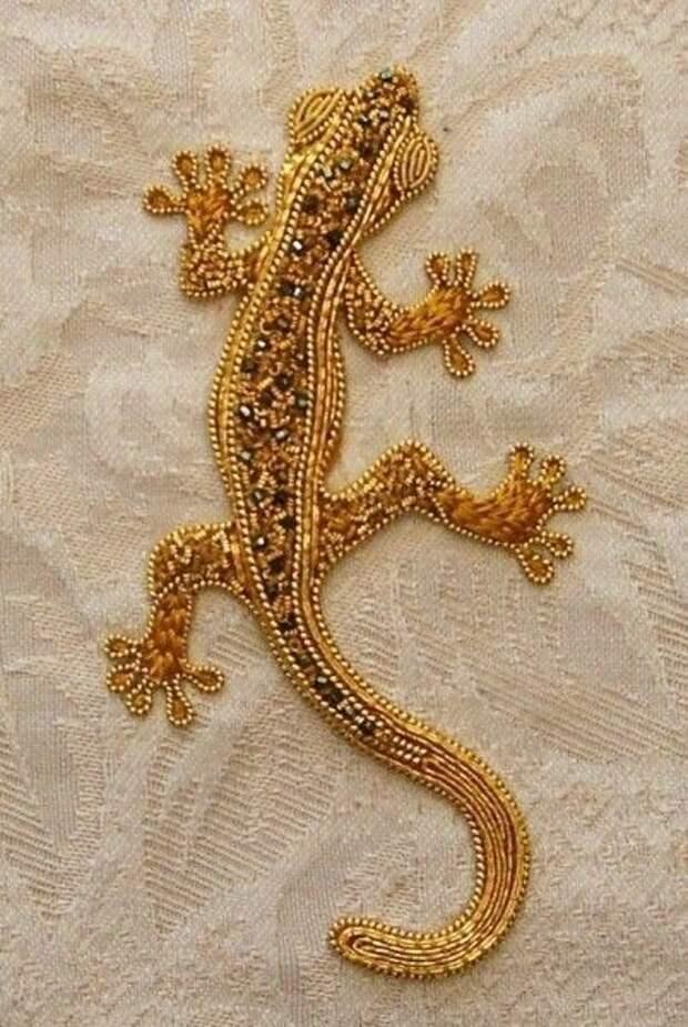 Золотая вышивка. Идеи