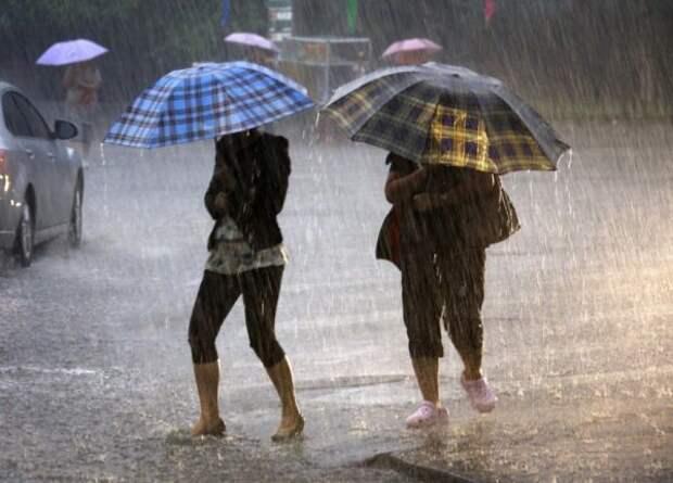Метеорологи прогнозируют плохую погоду вМоскве иПодмосковье на21сентября